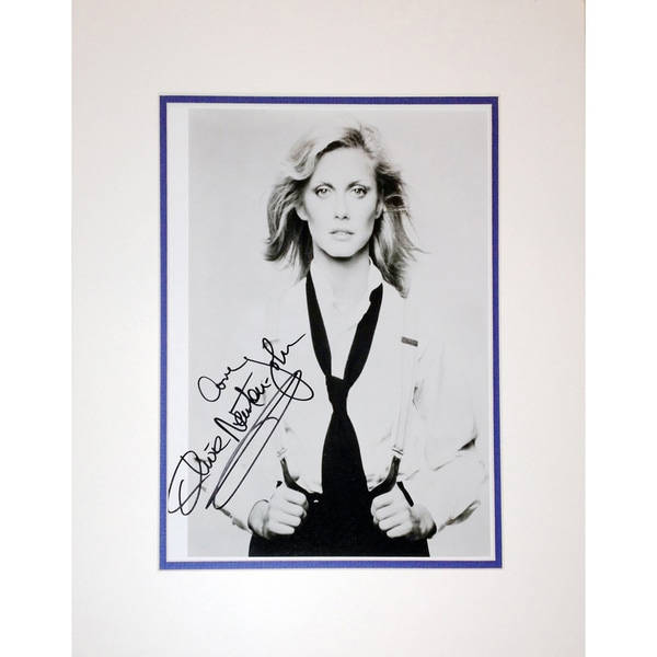 Framed 8x10 Photograph - Autographed by Olivia Newton John