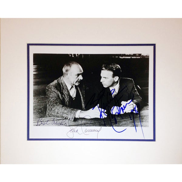 Framed 8x10 Photograph - Autographed by Sean Connery and Kevin Costner