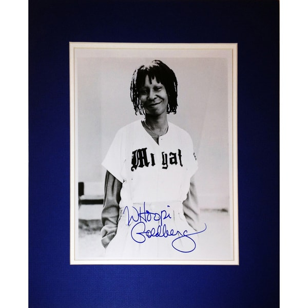 Framed 8x10 Photograph - Autographed by Whoopi Goldberg