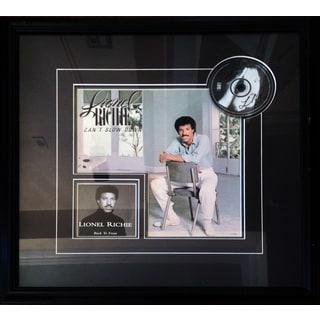 Lionel Ritchie Autographd Album - Museum Framed
