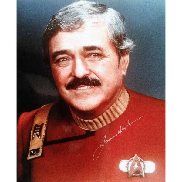 Star Trek's Mr. Scotty - Autographed by James Doohan