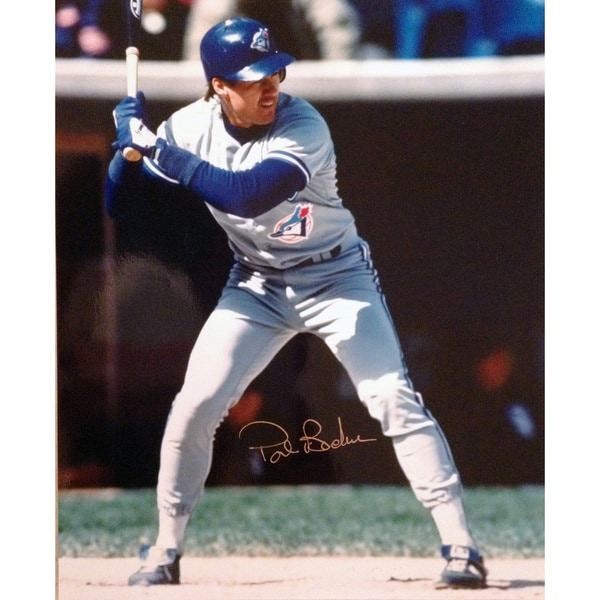 Pat Borders - Toronto Blue Jays World Series Champion (Stance)