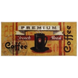 Mohawk Home New Wave Coffee Station Printed Rug (1'8 x 3'9)