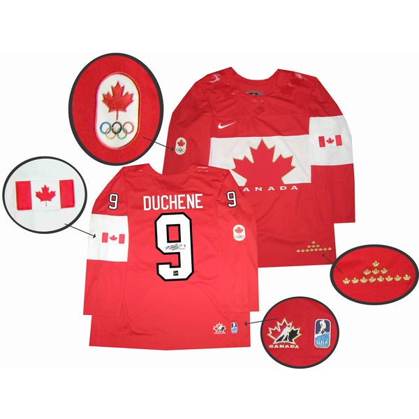 Team Canada 2014 Autographed Matt Duchene Red Jersey