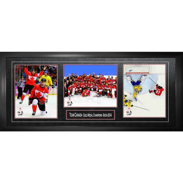 2014 Team Canada Gold Medal Champions - Crosby and Toews - (Triple 8x10)