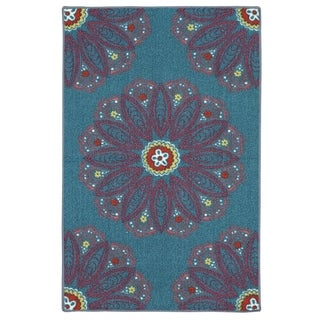 Mohawk Home Loop Print Base Lacee Rug (2'6 x 3'10)