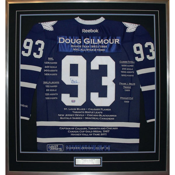 Doug Gilmour Career Jersey #193 of 193