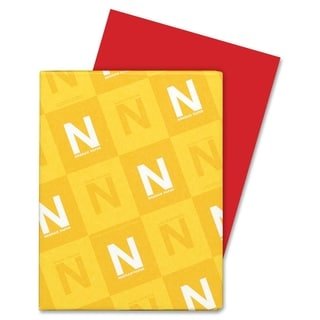Astrobrights 65lb. Printable Rocket Red Cardstock - 1 Pack