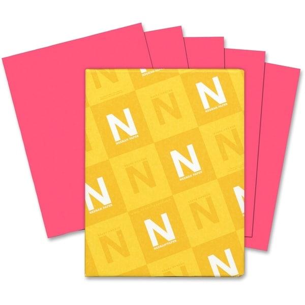 Astrobrights 65lb. Printable Pink Cardstock - 1 Pack