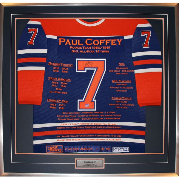 Paul Coffey Career Jersey #1 of 199