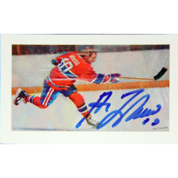 Guy Lafleur Autographed Collector Card - Montreal Canadiens