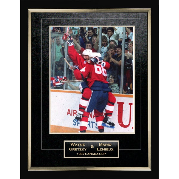87 Canada Cup 11X14 Collector Photo 15805662