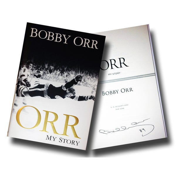 Bobby Orr 'My Story' Book - Autographed - Boston Bruins