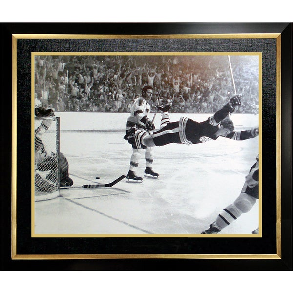 Bobby Orr 'The Goal' 11x14 Framed Photo - Boston Bruins 15805674