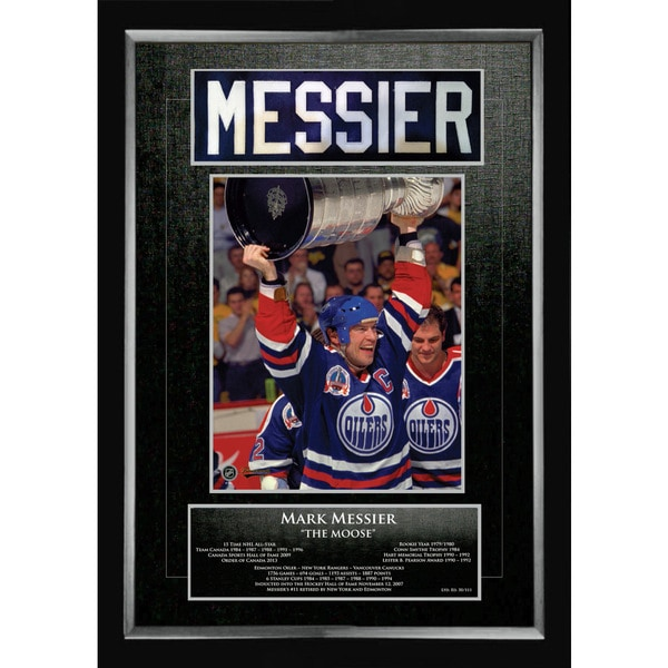 Mark Messier Career Collectible - Museum Framed - Ltd Ed of 111 15805703