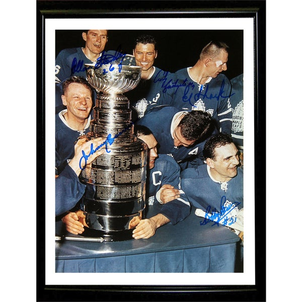 TML Cup Celebration - Framed Photograph - Toronto Maple Leafs 15805711