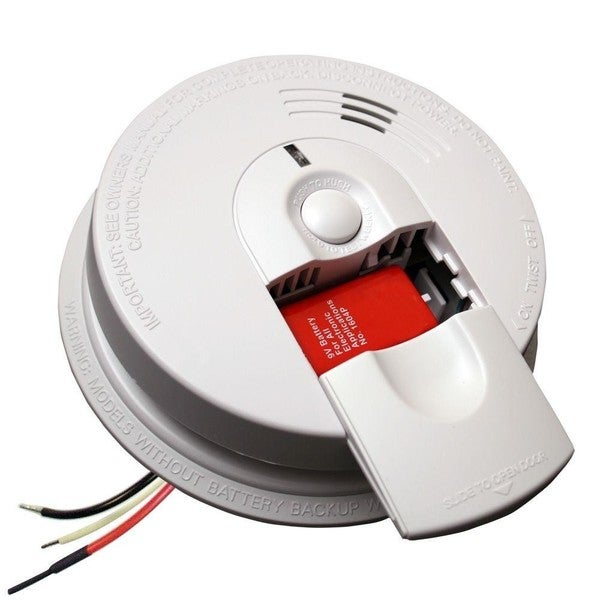 Kidde i4618-A 120V AC Wire-in Smoke Alarm with Alkaline Battery