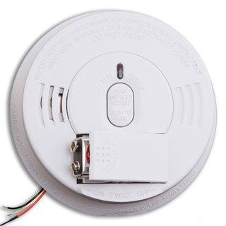 Kidde i12060 120V AC/DC Wire-in Smoke Alarm with Battery Backup
