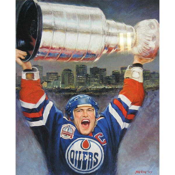 Mark Messier Lithograph - Edmonton Oilers 15805830