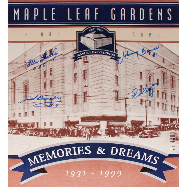 TML Gardens Final Ticket - Stanley, Kennedy, Bower and Kelly - 16x20 Photograph 15805888