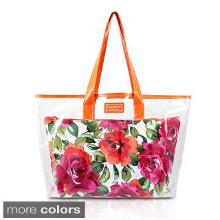 Jacki Design Tropicana Floral 2-pciee Tote Bag Set