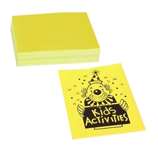 Pacon Neon 24 lb. Yellow Bond Paper - 1 Pack