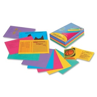 Pacon Array 24lb. Assorted Colors Bond Paper - 1 Ream