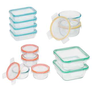 Snapware Total Solution Glass 24-piece Set
