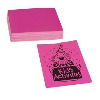 Pacon Neon 24 lb. Pink Bond Paper - 1 Pack