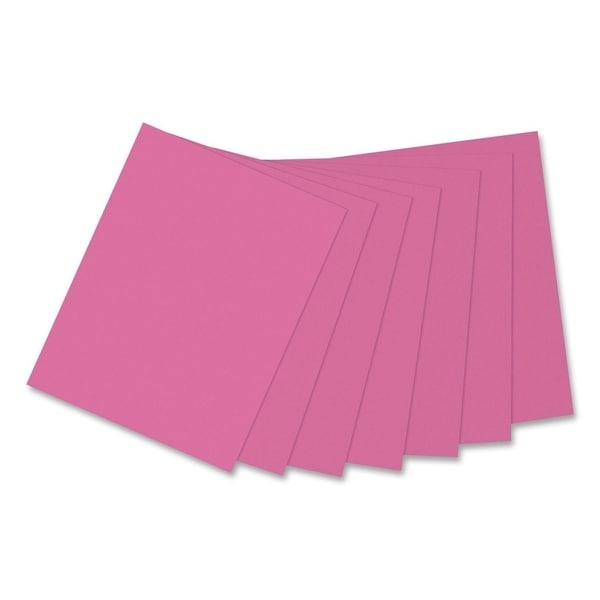 Pacon Kaleidoscope 24lb. Multi-Purpose Hot Pink Paper - 1 Ream