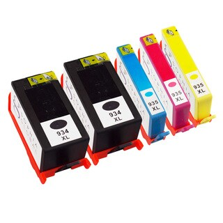 Sophia Global Remanufactured Ink Cartridge Replacement for HP 934XL and 935XL (2 Black, 1 Cyan, 1 Magenta, 1 Yellow)