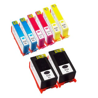 Sophia Global Remanufactured Ink Cartridge Replacement for HP 934XL and 935XL (2 Black, 2 Cyan, 2 Magenta, 2 Yellow)