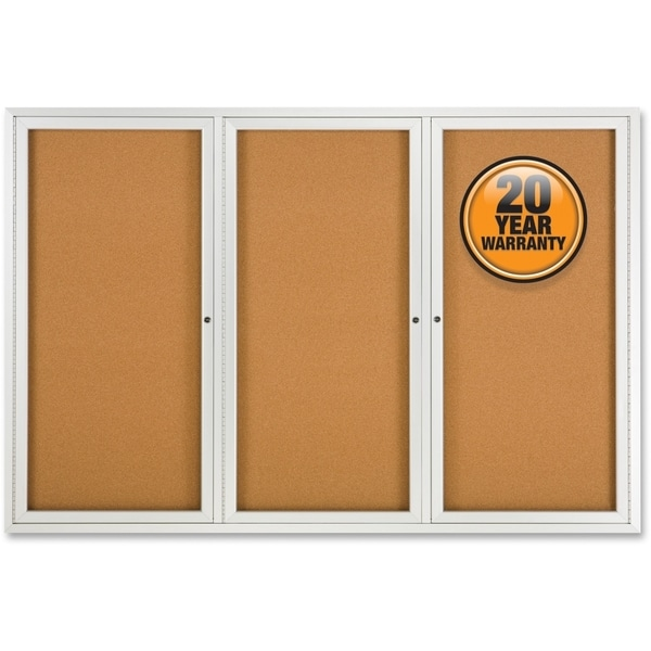 "Quartet 48""H x 72""W Bulletin Board"