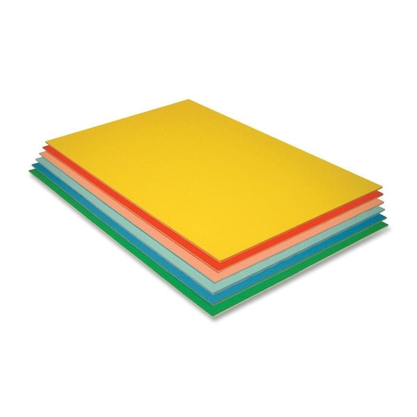 Pacon Economy Foam Board - 12 Boards