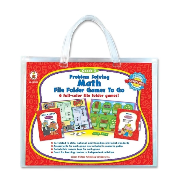 Carson-Dellosa Problem Solving Math Game - 1/EA