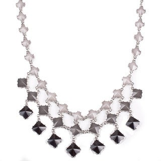 "Sophisticated Style ""Lorenza"" diamond layer necklace"