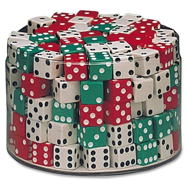 "ChenilleKraft Drum of Dice - 144 Pcs - 5/8"" Cubes - 144/PK"