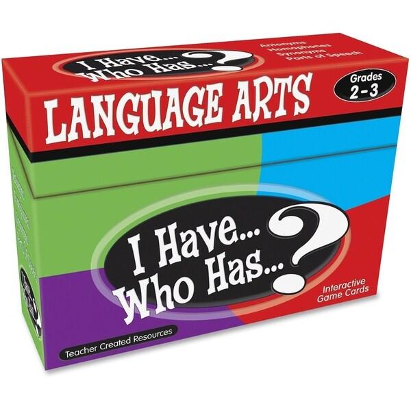 Teacher Created Resources Grades 2-3 Lang. Arts Game - 1/EA