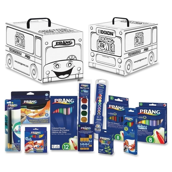 Prang Power Classroom School Supply Kit - 66 Pieces