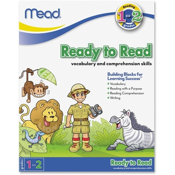 Mead Ready to Read Workbook Grades 1-2 Education Printed Book - 1/EA