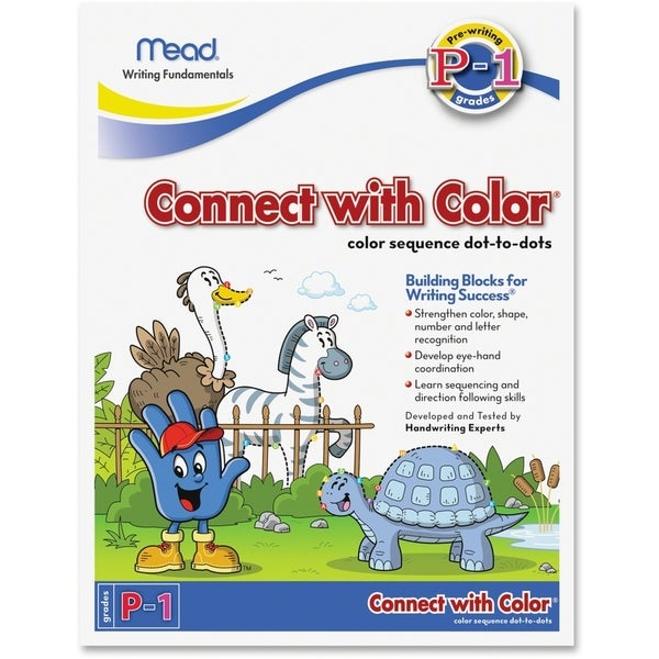 Acco Connect with Color Grades P-1 Workbook Education Printed Book - 1/EA