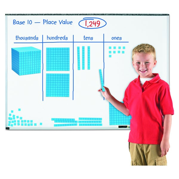 Learning Resources Giant Magnetic Base Ten Set - 131/ST