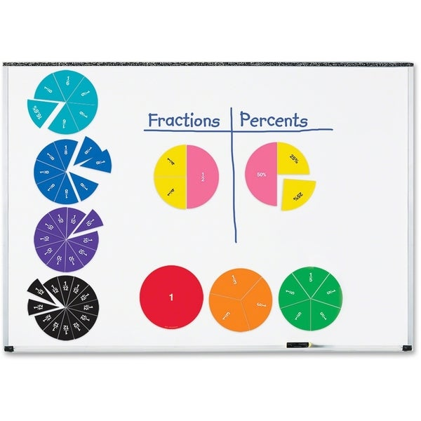 Learning Resources Double-Sided Magnetic Fraction Circles - 6/ST