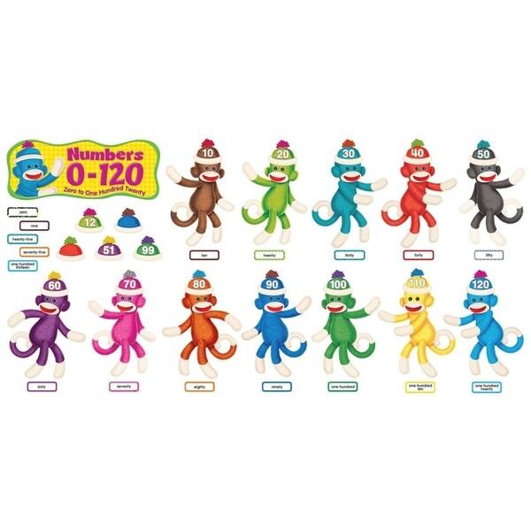 Trend Sock Monkeys Num 0-120, Multi - 266/ST