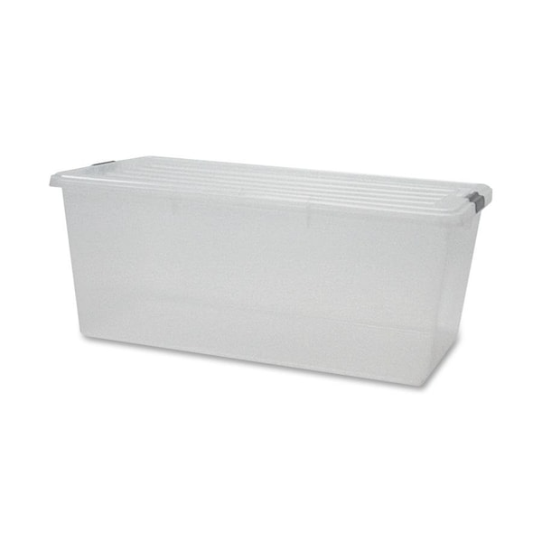 Iris Storage Box with Lid - 4/CT