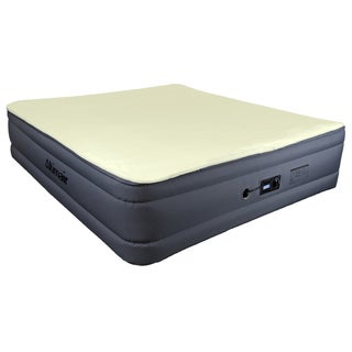 Altimair Lustrous Series Raised King-size Airbed with Memory Foam Topper