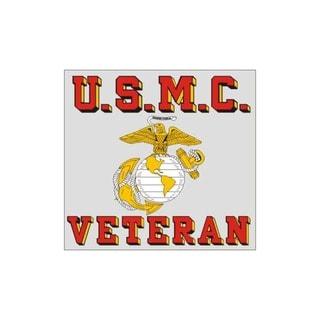 United States Marine Corps Veteran Car Decal