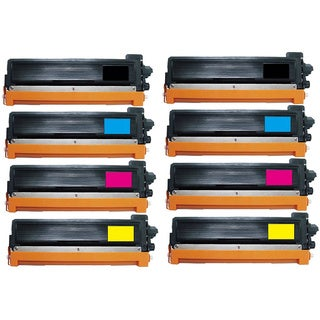 Pack Replacing Brother TN-221BK 225C 225M 225Y Toner Cartridge