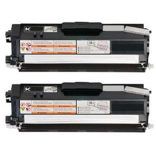 2-pack Replacing Brother TN336 TN-336BK Black Toner Cartridge