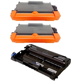 3-pack Replacing Brother 2 by TN-450 Toner Cartridge Plus 1 by DR-420 Drum Unit